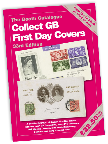 Collect GB First Day Covers - 33rd Edition